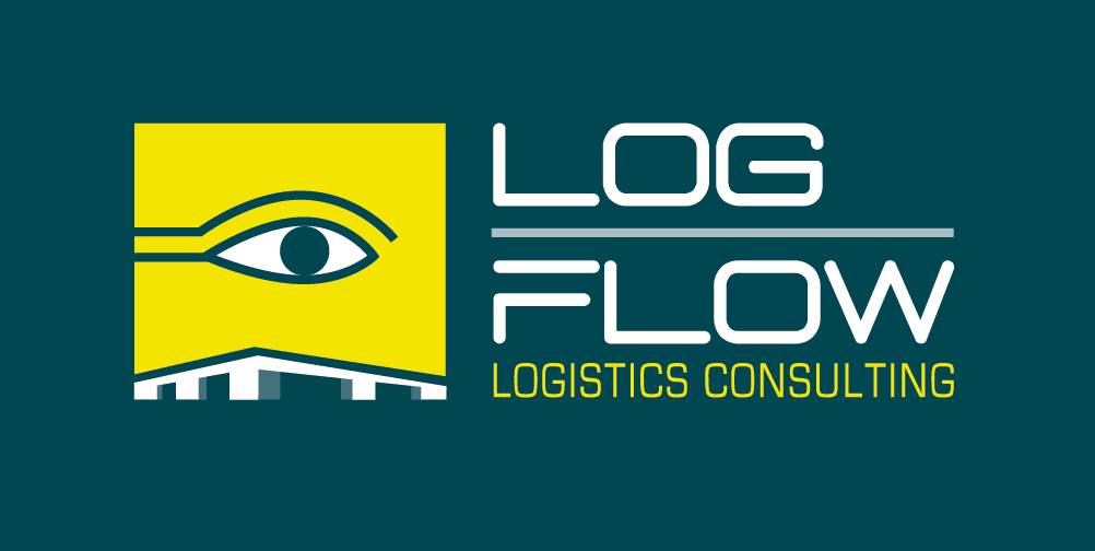 Logflow Logo NIEUW Groene Achtergrond